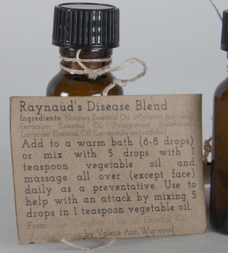 Raynaud's Disease Essential Oil Blend