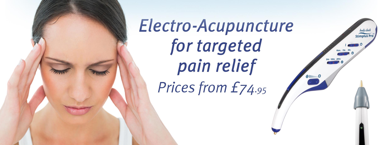 Electro acupuncture including Stimplus Pro
