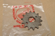 NOS Honda ATC70 C70 CR60 CR80 CT70 XL75 XR75 XR80 Z50 R Front Chain Drive Sprocket 14T 23800-040-010