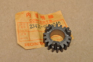 NOS Honda ATC90 ATC110 CL90 CT90 SL90 Transmission Main Shaft 2nd Gear 23431-052-040