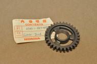 NOS Honda CR250 M Transmission Counter Shaft 3rd Gear 23451-357-020