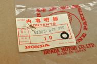 NOS Honda CA175 CB175 CL125 A CL175 CM91 CT90 S90 SS125 O-Ring 7.2 x 2.2 mm 91305-028-000