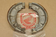 NOS Honda CA160 CA95 Front or Rear Brake Shoe Pad Pair Set 45120-200-000