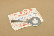 NOS Honda CB125 S SL90 Right Drive Chain Tension Adjuster 40543-074-000