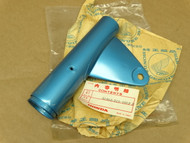 NOS Honda CL175 K5 Right Fork Cover Headlight Mount Ear Strato Blue 51602-316-000 FB