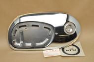 NOS Honda CA200 C200 Fuel Gas Tank Right Side Chrome Panel 17640-030-010