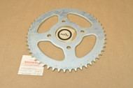 NOS Honda CT125 XL125 Reat Drive Chain Sprocket 52T 41201-382-670