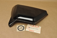 NOS Honda XL125 K1-1976 Left Side Cover in Black 83640-365-670 B