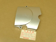 NOS Honda CB100 CB125 CL100 CL125 SL100 SL125 XL100 Left Rear Engine Side Chain Sprocket Cover 11361-107-000