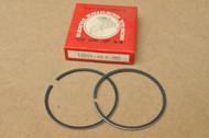 NOS Honda 1976-78 CR125 M Piston Ring Set for 1 Piston 1.00 Oversize 13051-400-003