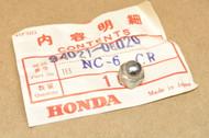 NOS Honda ATC70 C70 C100 C102 C105 T C110 CA72 CA77 CA95 CB1100 CB350 F CB400 F CT70 SL70 6mm Chrome Acorn Nut 94021-06020
