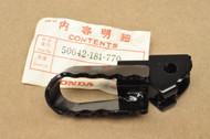 NOS Honda 1981-82 CT70 1997-99 XR70 1980-99 Z50 R Left Footpeg 50642-181-770