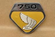 NOS Honda CB750 K0 Right Side Cover Emblem Badge 87123-300-020