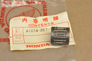 NOS Honda ATC250 R CR250 M CR250R FL250 MR250 MT250 TRX250 R Connecting Rod Small Bearing #1 91014-357-003