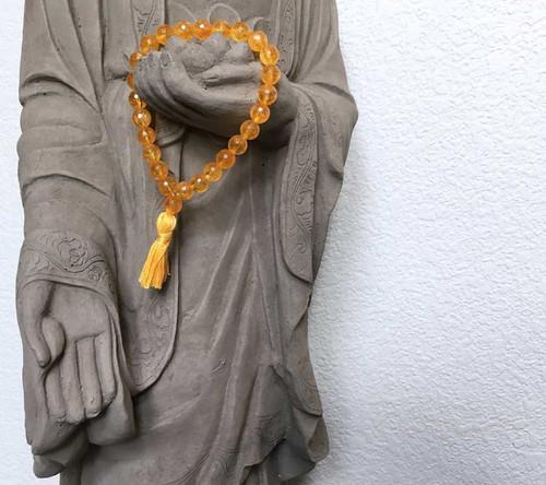 Citrine Prayer Bracelet