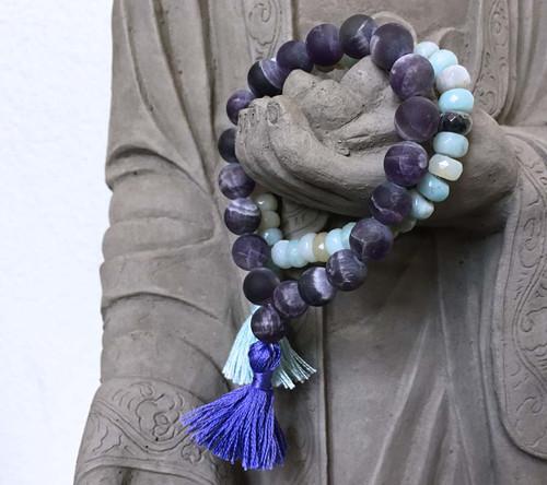 Amethyst Prayer Bracelet