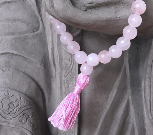 Rose Quartz Prayer Bracelet