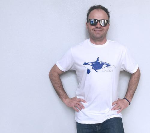 Orca Whale Men's Tee