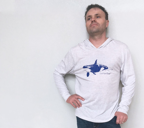 Orca Whale Men's Hoodie