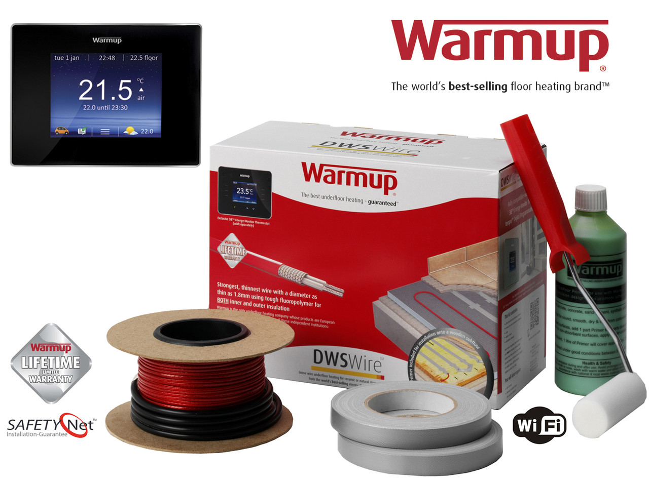 Warmup underfloor heating loose wire dws kits 190 204m2 warmstar image 1 asfbconference2016 Gallery