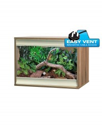 Vivexotic Viva+ Vivarium: Terrestrial Small (2ft): Walnut