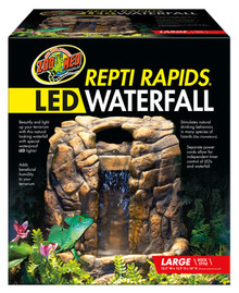 Zoo Med Repti Rapids® LED Waterfall - Large Rock