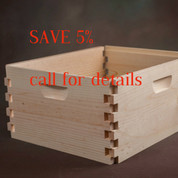 10 FRAME UNASSEMBLED DEEP HIVE BODY (PALLET QUANTITY 130)