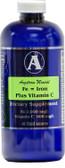Angstrom Minerals - Iron Plus Vitamin C 16 oz