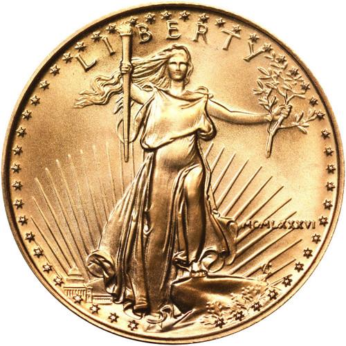 1986 Collectible Ten Dollar American Gold Eagle