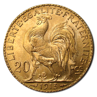20-Franc French Rooster