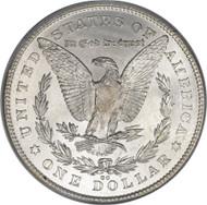 Carson City Morgan; CC-Mint Morgan Silver Dollar