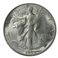 Walking Liberty Half dollars (5 Different Dates)