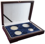 Four Coin Box for Silver Dollars