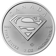 2016 $5 Superman Silver Coin- Special