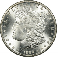 1889 Morgan Silver Dollar (XF to AU condition)