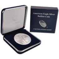2017 Silver Eagle in Genuine U.S. Mint Presentation Case