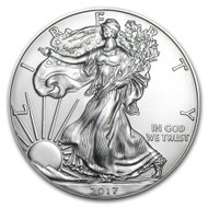 2017 American Eagle Silver obverse