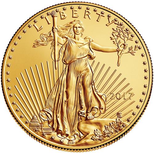 2017 Five Dollar ($5) American Gold Eagle obverse