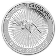 2017 Australian Kangaroo Silver reverse