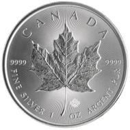 2017 Silver Maple Leaf reverse