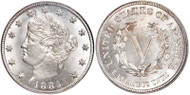 Liberty Head V Nickel (Very Fine)