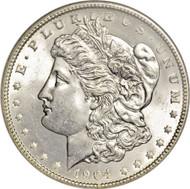 1904 Morgan Silver Dollar in BU condition