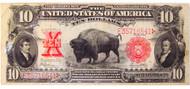 $10 Bison Note (Fine)