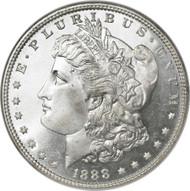 1888-O Morgan Silver Dollar; New Orleans Mint