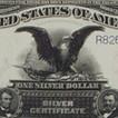 1899 $1 Black Eagle (Extremely Fine)
