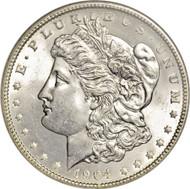 1904 Morgan Silver Dollar (Almost Uncirculated)
