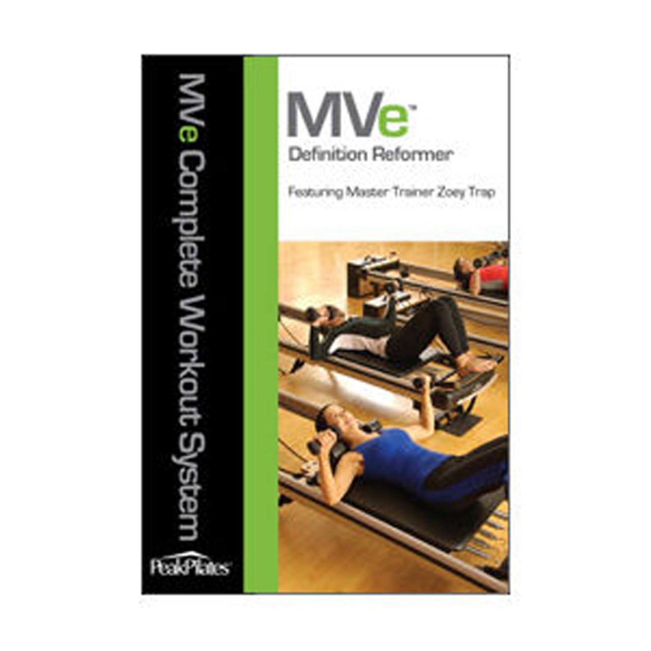 MVe® Definition Reformer Workout DVD