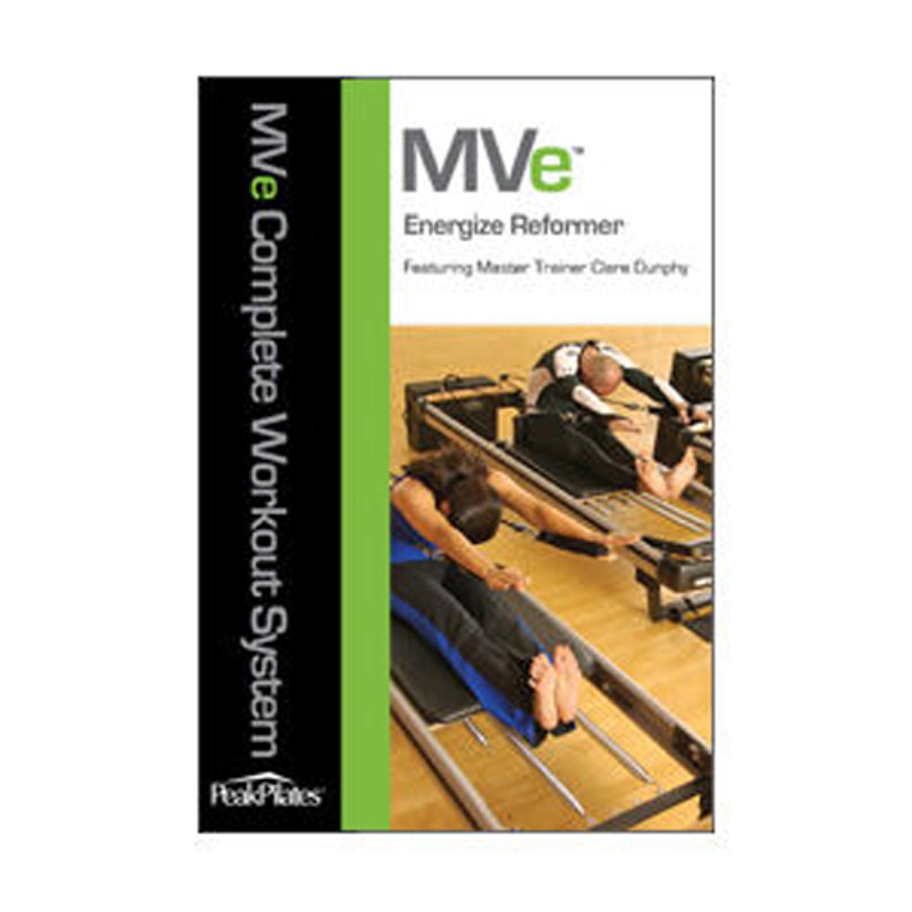 MVe® Energize Reformer Workout DVD