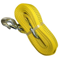 "Yellow 2""x20' Tow Strap"