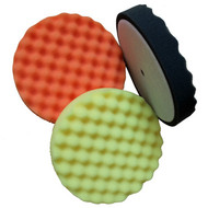 """6"""" Foam Pads available in Black, Orange and Yellow"""